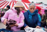 Phiên chợ Tết 0 đồng ấm áp cho hàng nghìn bệnh nhân nghèo ở thủ đô
