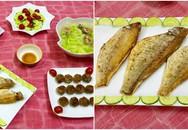 Bữa cơm chiều đơn giản nhưng ấm áp và ngon miệng