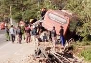 Ôtô khách tông xe tải làm một người chết, 4 bị thương
