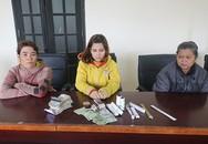Nhóm phụ nữ dùng băng dính trộm tiền trong hòm công đức