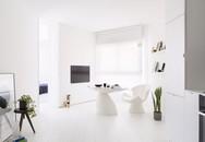 Căn hộ nhỏ hẹp 42m² nhìn rộng thênh thang nhờ sử dụng gam màu trắng tinh khôi