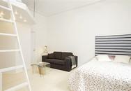 Chỉ vỏn vẹn 38m² nhưng căn hộ sáng sủa này chứa được vô số đồ đạc