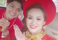 'Đám cưới 100 cây vàng' đình đám đến mức cô dâu trĩu cổ, chật kín hai tay vì vàng ở Cà Mau