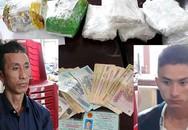 Hai cha con cõng 5 bánh heroin và 2.000 viên ma túy đá