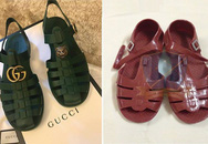 """Mẫu sandal mới của Gucci giống hệt dép """"rọ"""" của Việt Nam giá tận 11 triệu đồng"""