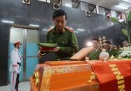 Nghẹn ngào lễ tang chiến sỹ cảnh sát PCCC hy sinh trong vụ tai nạn trên cao tốc