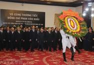Lãnh đạo Đảng, Nhà nước đến viếng nguyên Thủ tướng Phan Văn Khải
