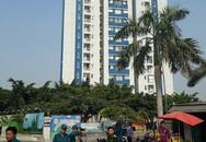 Chung cư Carina Plaza cháy lại lúc giữa trưa nhiều người hốt hoảng