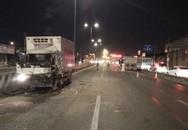 Xe tải va chạm xe ben khi đi ngược chiều trên đường quốc lộ, 2 tài xế mắc kẹt trong cabin trọng thương