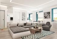 """4 mẫu thiết kế căn hộ chung cư 50m² """"nhìn là muốn ở ngay"""""""