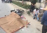 Hà Nội: Va chạm với xe container chạy cùng chiều, vợ bị cán tử vong, chồng bị thương