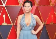 Nữ diễn viên gốc Việt quyến rũ trên thảm đỏ Oscar 2018