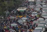 Hà Nội: Ùn tắc kinh hoàng trên đường Vành đai 3, hàng nghìn phương tiện 'chôn chân' từ sáng sớm