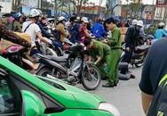 Xe khách đánh võng trên đường, công an truy đuổi, bị tài xế hành hung