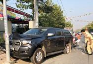 Hàng chục cảnh sát truy đuổi gắt gao 'xe bán tải tông văng CSGT'