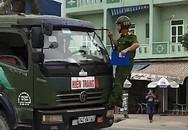 Clip chiến sĩ công an đu gương bắt xe vi phạm