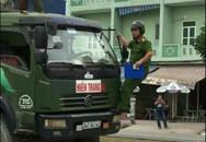 Thông tin mới nhất vụ chiến sĩ cảnh sát đu gương xe tải vi phạm chạy trên đường phố Hải Phòng