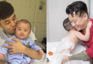 """Sao nam Việt: Từng là soái ca """"sát gái"""" hô biến thành """"ông bố bỉm sữa"""" đảm đang"""