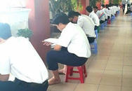 THCS và THPT Nguyễn Khuyến: 'Trường học như trại lính'