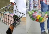Túi hiệu Chanel gây sốc vì chẳng khác gì giỏ đựng đồ trong siêu thị có giá gần 300 triệu đồng