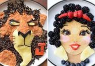 Bà mẹ được săn đón nhờ điêu khắc nhân vật hoạt hình trên thức ăn cho con