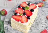 Mách bạn cách làm bánh kem trái cây ngon đẹp không thua bánh đi mua