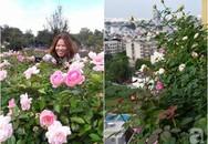 Ngắm ban công chỉ vỏn vẹn 2,2m² nhưng có tới hơn 20 chậu hồng thơm ngát ở Sài Gòn