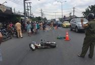 Nữ sinh viên ở Sài Gòn chết thảm dưới bánh xe sau va chạm với xe tải trên đường phố