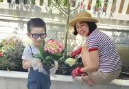 Vườn hoa 30 m2 trước sân nhà giúp MC Thanh Thảo xả stress