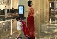 Thu Minh lần đầu khoe ảnh con trai sau 3 năm giấu kín