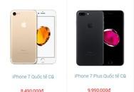 iPhone 7, 7 Plus qua sử dụng tiếp tục giảm giá sâu tại Việt Nam