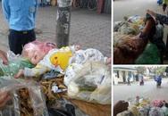 """Hà Nội: Phát hiện bé trai kháu khỉnh bị """"vứt"""" trên xe rác"""