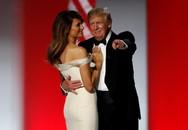 Khoảnh khắc rất ngọt ngào của Tổng thống Donald Trump bên vợ đẹp