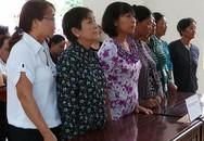 7 phụ nữ lĩnh án vì chặn xe chở cát