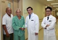Thay van tim thành công, cụ ông 90 tuổi đi lại được sau 7 năm liệt giường