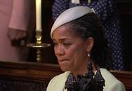 Mẹ cô dâu Meghan Markle rơi nước mắt nhìn con gái hạnh phúc trong đám cưới với hoàng tử Harry