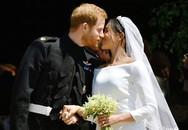 Giây phút xúc động của cô dâu Meghan Markle và hoàng tử Hary trong đám cưới hoàng gia Anh