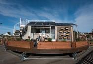 Ngôi nhà tự xoay tròn để đón ánh nắng