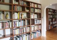 Tôi đóng tủ sách hoành tráng rồi để bám bụi