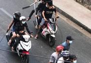 Diễn biến mới nhất vụ hai nhóm giang hồ dàn trận chém nhau trên phố Sài Gòn