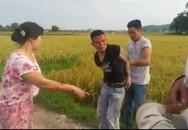 Thanh Hóa: Dân vây bắt nhóm côn đồ đòi 5 triệu tiền bảo kê máy gặt