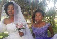 Cô gái làm lễ cưới sau khi bị cá sấu cắn cụt tay
