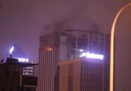 Hà Nội: Cháy ở tòa nhà MB Grand Tower trên đường Lê Văn Lương