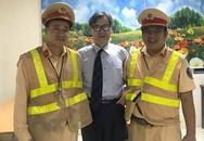 Thầy giáo Nhật Bản đi lạc 20km trên đại lộ Thăng Long