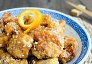 Cách làm gà chiên nước sốt cam thơm lừng