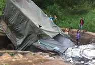 Ninh Thuận: Xe tải đâm vào nhà dân, 4 người thương vong