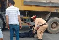 Một chiến sỹ cảnh sát PCCC bị xe tải đâm sau khi dập lửa ở công ty Ỵakjin