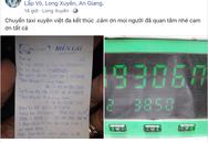 Chuyến đi phá mọi kỷ lục của ngành taxi: Chạy một mạch 3850 cây số khứ hồi An Giang - Hà Nội, hết 49 triệu tiền cước