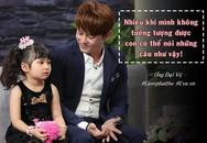 """Con gái """"biết điều"""" của bố đơn thân Ưng Đại Vệ làm anh xúc động vì một câu nói!"""