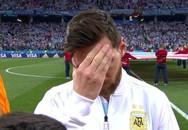 Nét mặt căng thẳng của Messi đầu trận như biết trước cơn bĩ cực